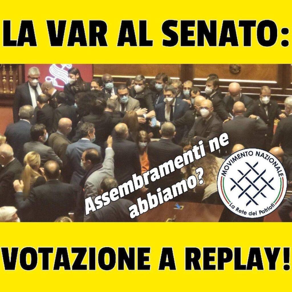 Var al Senato